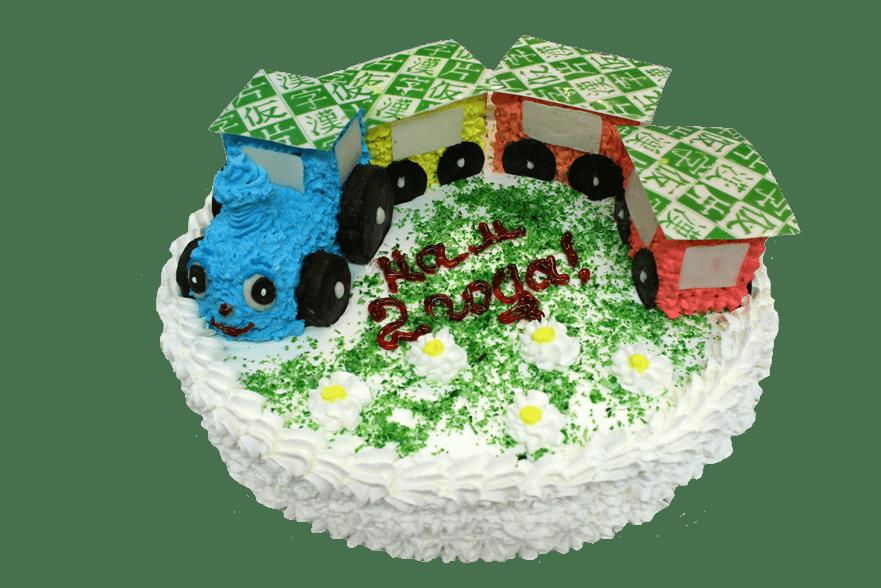 Торт Паровозик