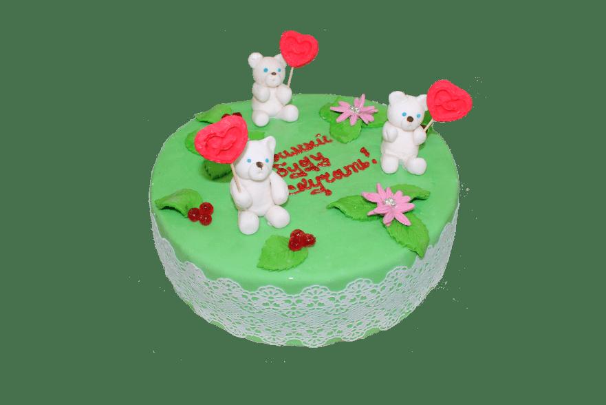 Торт Три медведя